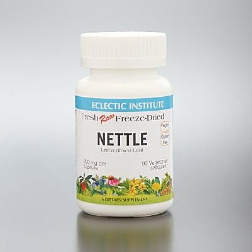 中断ブラインドふざけたエクレクティック ネトル 90粒 Eclectic Institute Inc. Nettles 正規品 ハーブサプリメント