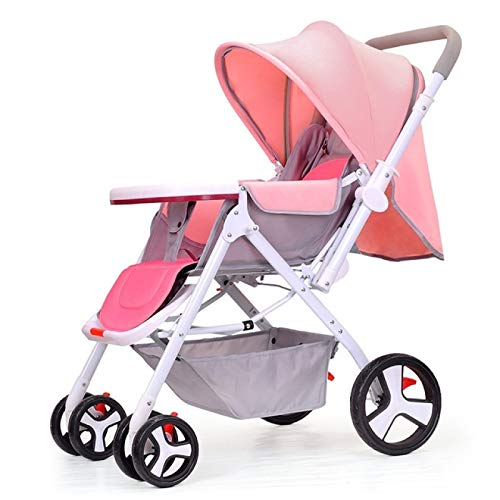 Why Choose YYZZ Baby Stroller, high Landscape Two-Way Sitting Reclining, Multifunctional Portable St...