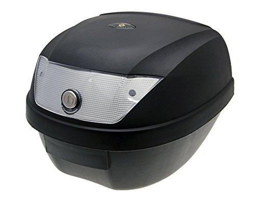 2EXTREME 28L Top Case Koffer schwarz, Reflektor weiß