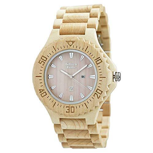 Orologio Green Time Uomo Legno Acero Wood ZW001B