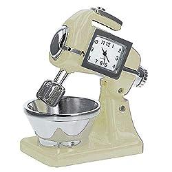 Miniature Cake - Food Mixer Novelty Quartz Movement Collector Clock WM Widdop 9610
