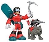 Fisher-Price Rescue Heroes Al Valanche & Claws Figure Set