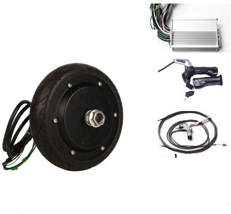 gzftm 6,5pulgadas 350W 24V eléctrico Roller Motor Kit Buje de rueda eléctrica del motor para silla Motor eléctrico para monopatín