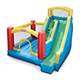 Little Tikes Giant Inflatable Slide Bouncer with Heavy Duty Bouncer, Multicolor, Model: