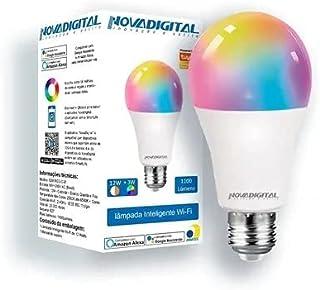 Smart Lâmpada Led RGB Wifi Casa Inteligente 12w Bivolt