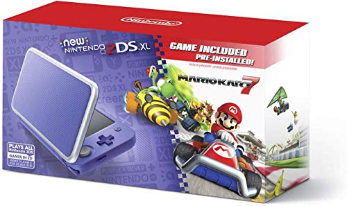 New Nintendo 2DS XL - Purple + S...