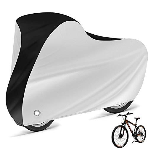 Fahrradabdeckung Wasserdicht ,strapazierfähige Fahrradgarage, Schutzbezug oder Abdeckplane, wasserfest, geeignet für Fahrräder