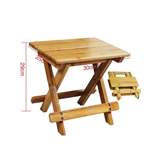 Unbekannt Bambus Kleine Bank Kinder Klappstuhl Portable Im Freien Mazar Angeln Erwachsenen Platz Stuhl Stuhl Haushalt,Square,L