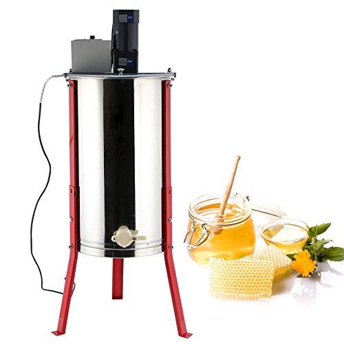 Tek Motion 110V Electric 3-Frame Stainless Steel Honey Extractor