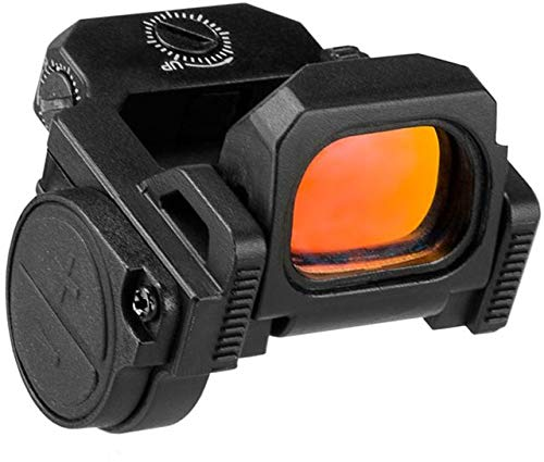 New VISM Flipdot Pro Red Dot Reflex Optic, Picatinny/Weaver, Black, VDFLIPPRO