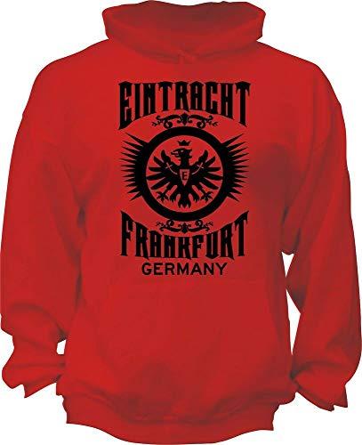 Eintracht Frankfurt Germany UEFA Bundesliga Football Soccer Hoodie SGE Adler