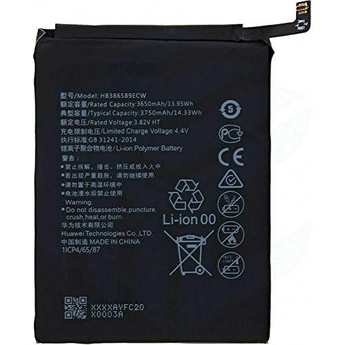 Ellenne Batería compatible con Huawei P10 Plus y Mate 20 Lite HB386589ECW de alta capacidad 3750 mAh con kit de desmontaje incluido
