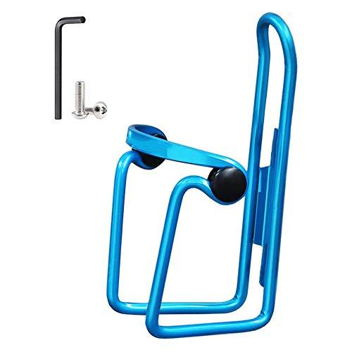 YYLI Porte Bidon Vélo, Porte Bidon d'eau De Vélo en Alliage D'aluminium Réglable, pour Vélo, Vélo De Route, VTT, Vélos pour Enfants,Bleu