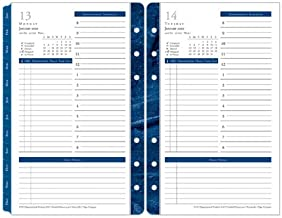 Compact Monticello One-Page-Per-Day Ring-Bound Planner - Jan 2020 - Dec 2020