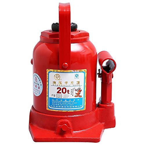 AXWT 20T Toneladas de Botella hidráulica Vestidor hidráulico Jack 190-350mm