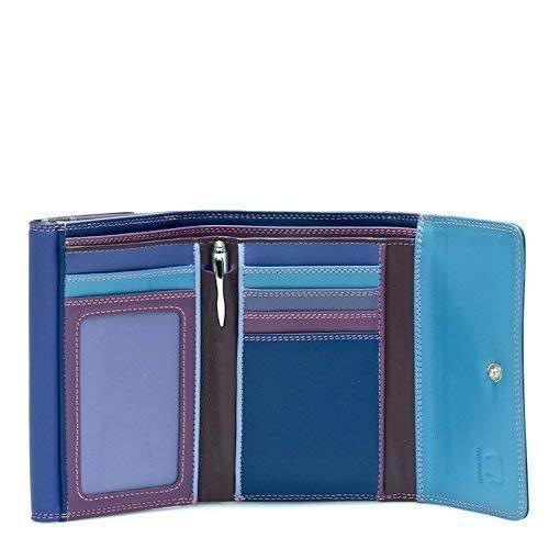 Mywalit leer dubbele overslag portemonnee/portemonnee 250 lief violet