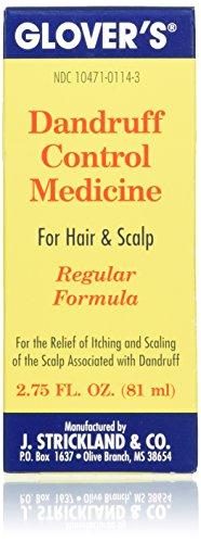 Glovers Dandruff Control Medicine Regular Formula 2.75 oz