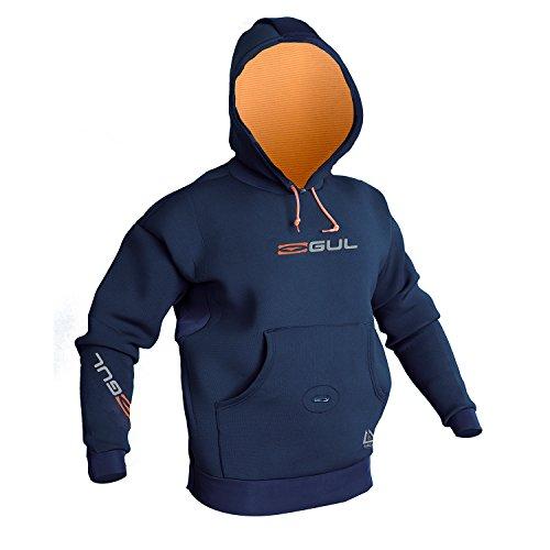 GUL Flexor Hh Neoprenanzug Hoody Jumper Navy mit Wärmeisolierung. Wasserdicht - Thermal Warm Heat Layer-Schichten
