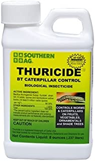 8 oz thuricide bt caterpillar control concentrate