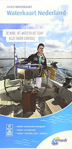 Waterkaart Nederland 1:320 000: Wasserkarte
