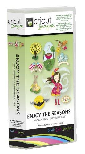Provo Craft Cricut Imagine Art Cartridge, Enjoy The Seasons