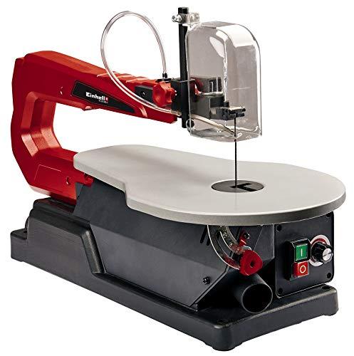 Einhell Scie à chantourner TC-SS 405 E (120 W, Longueur de lame 127 mm, Dimensions de la table 408 x, Livré avec lames)