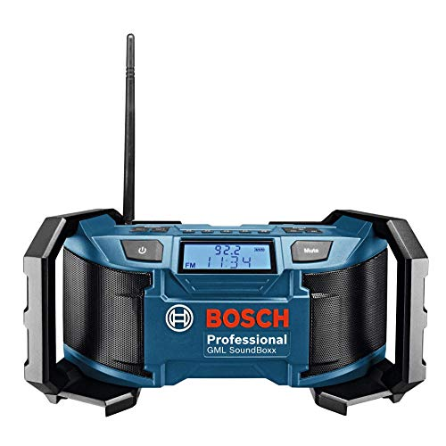 Bosch Professional GML Soundboxx  (Radio/Radio-réveil MP3, stations radio FM/AM)