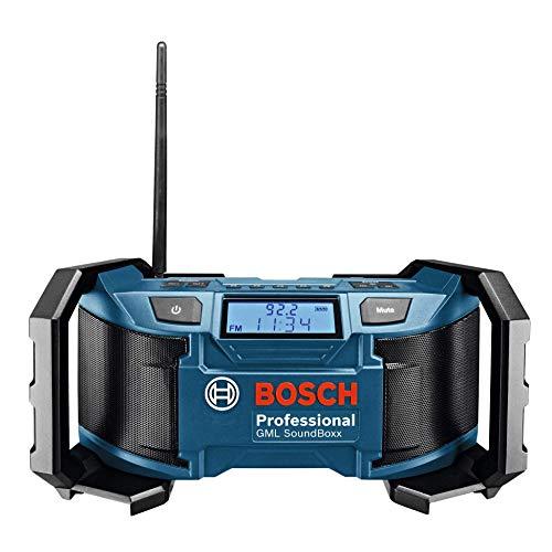 Bosch Professional 0601429900 GML Soundboxx (Radio/Radio-Réveil MP3,...