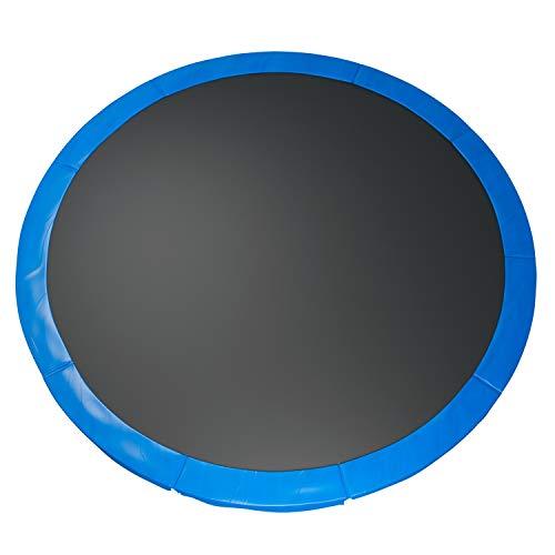 Fast-Jump - Cuscino di protezione delle molle per trampolino, 366 cm, colore: Azzurro cielo