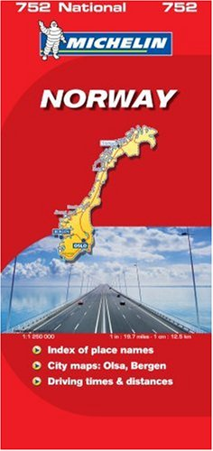 Norway 2007 (Michelin National Maps)