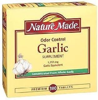 Nature Made 防臭大蒜 1,250 毫克 等效蒜 - 300 片