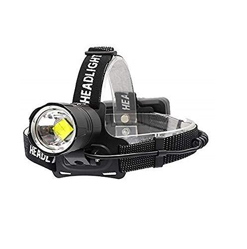 BESTSUN XHP70 Stirnlampe LED wiederaufladbar 10000 Lumen, Arbeit stirnlampe extrem hell Zoomfähige & leistungsstarke Stirnlampen für Höhlenforschung, Angeln, Jagen