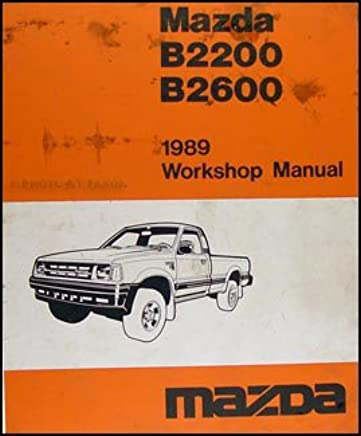 Mazda B2200 Manual Books