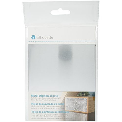 Silhouette Metal Stippling Sheets
