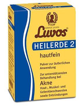 Luvos Heilerde 2 hautfein Pulver Spar-Set 2x950g. Zur unterstützenden Behandlung bei Akne, Haut-, Muskel- und Gelenkbeschwerden sowie Entzündungen.