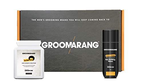 Kit de crecimiento cabello acelerado GROOMARANG - Kit de vitaminas para el...