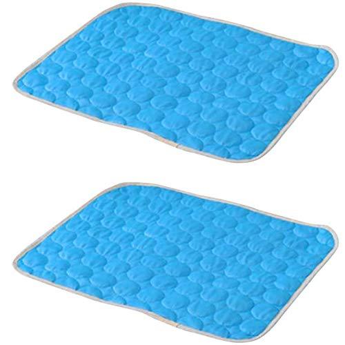 Dlovey Pet Waterproof Ice Pad, Haustiere kühl halten Sommer, Komfort für Katzen und...