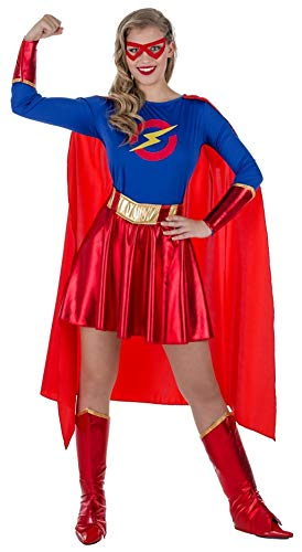 Banyant Toys Disfraz Super Heroina Mujer: S