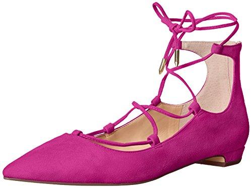 Ivanka Trump Women's Tropica Ballet Flat, New Raspberry, 8.5 M US