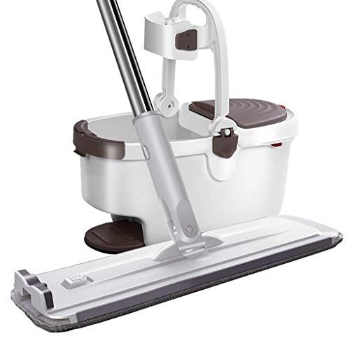 SXXYTCWL Herramientas de Limpieza MPOP MOP Piso de Madera rotativo Lazy Mop Limpieza de Productos (sin Necesidad de Lavar a Mano) Microfibra MOP jianyou