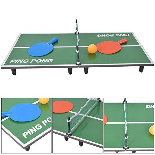 Mini-tafeltennisspelset, tafelspel Opvouwbare tafeltennistafel Ouder-kind entertainment speelgoed