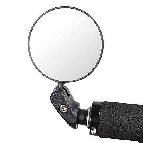 Espejo Bicicleta, Bicicleta De Carretera De Montaña, Espejo Retrovisor Convexo Plegable, Espejo Universal, Equipo Para Montar