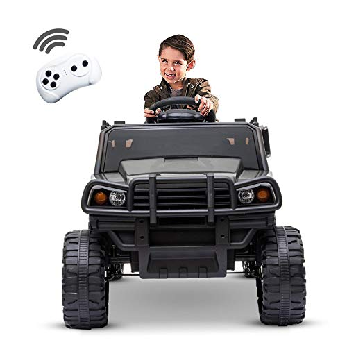 Recaceik Kids Ride On Car Truck Style 12V Rechargeable Toy...