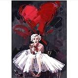 Desconocido Rompecabezas de 1000 Piezas con Frases de Marilyn Monroe, Rompecabezas Abstractos Modernos, Juguetes para Adultos, niños, patrón, Juguetes educativos