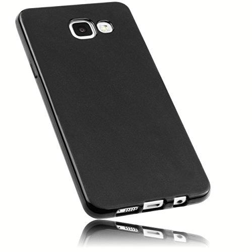 mumbi Funda Compatible con Samsung Galaxy A5 (2016) Caja del teléfono móvil, Negro