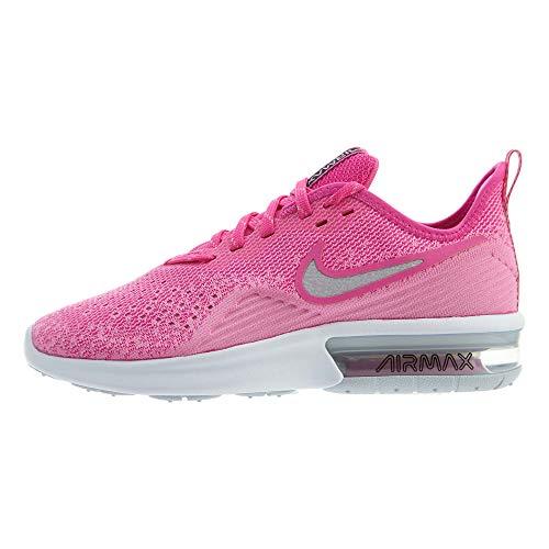 Nike WMNS Air Max Sequent 4 [AO4486-601] Women Running Shoes Laser Fuchsia/US 6.0