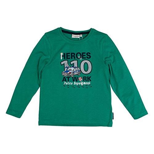 Salt & Pepper Highway Patrol Heroes At Work Applikation Camiseta de Manga Larga para Niños
