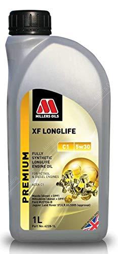 Millers Oils XF Longlife 5w30 C1 volledig synthetische motorolie, 1 liter