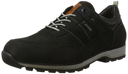 FRETZ men Walk, Zapatos de Cordones Derby Hombre, Negro 38, 48 EU