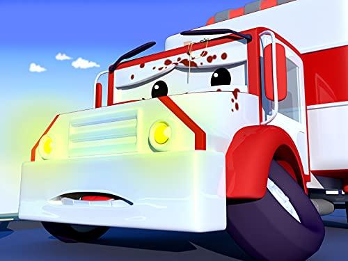 Amber der Krankenwagen ist voll mit Suppe / Suzy das kleine rosa Auto hat Gary das Müllauto angefahren und ist voll mit Tinte